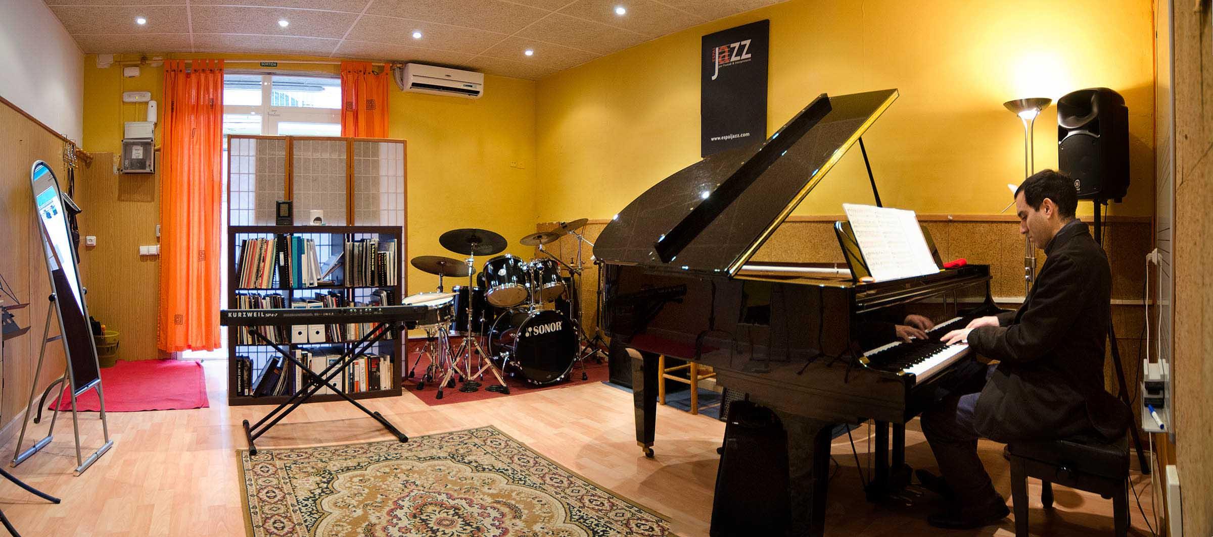 Espia Jazz. Escola de música. Jazz Academy. Girona. Salt. Bescanó