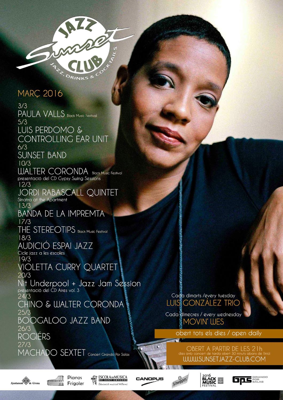 Espai Jazz audicio Sunset Girona 18-3-16